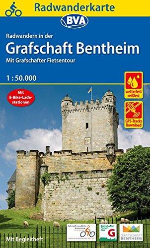 9783870737924: Radwanderkarte BVA Radwandern in der Grafschaft Bentheim 1:50.000: mit Grafschafter Fietsentour - mit Begleitheft