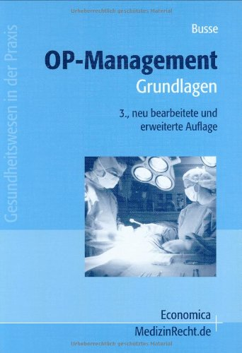 9783870813260: OP-Management: Grundlagen