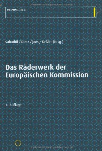 9783870814519: Das R�derwerk der Europ�ischen Kommission