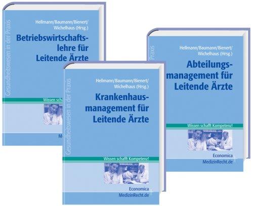9783870816162: Managementwissen für Leitende Ärzte. 3 Bände