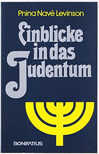 9783870886707: Einblicke in das Judentum (German Edition)