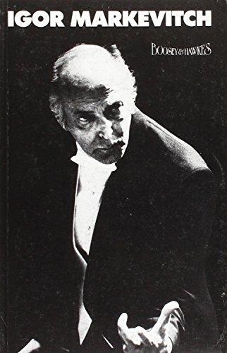 9783870902018: Igor Markevitch (Musik der Zeit) (German Edition)