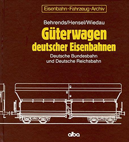 9783870941284: G�terwagen deutscher Eisenbahnen. Deutsche Bundesbahn und Deutsche Reichsbahn