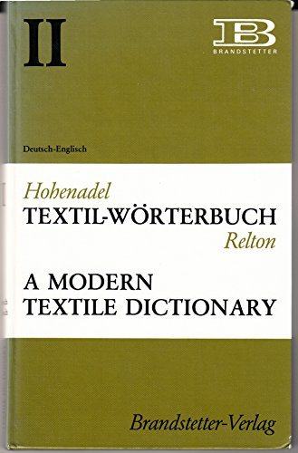 9783870970857: Textil - Worterbuch: German-English v. 2