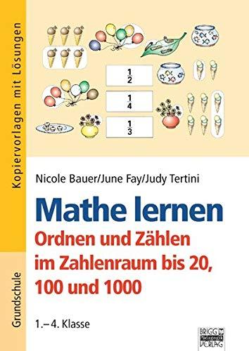 9783871014505 Mathe Lernen 1 4 Klasse Ordnen Und Zählen