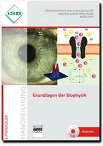 9783871016400: Grundlagen der Biophysik