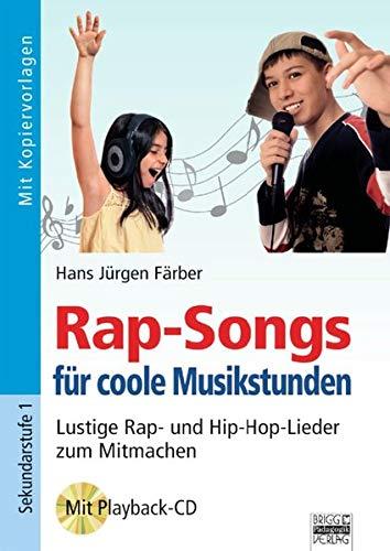 9783871018190: Rap-Songs für coole Musikstunden, m. Audio-CD