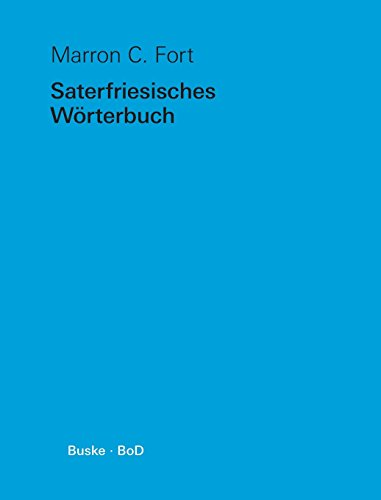 9783871184017: Saterfriesisches Wörterbuch (German Edition)