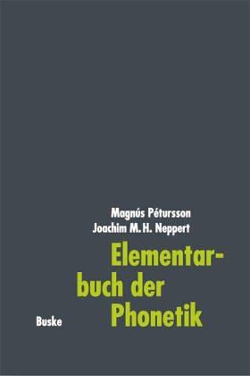 9783871189906: Elementarbuch der Phonetik