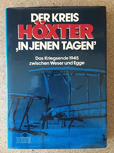 9783871208546: Der Kreis H�xter