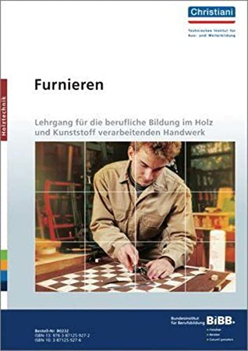 9783871259272: Holztechnik. Furnieren