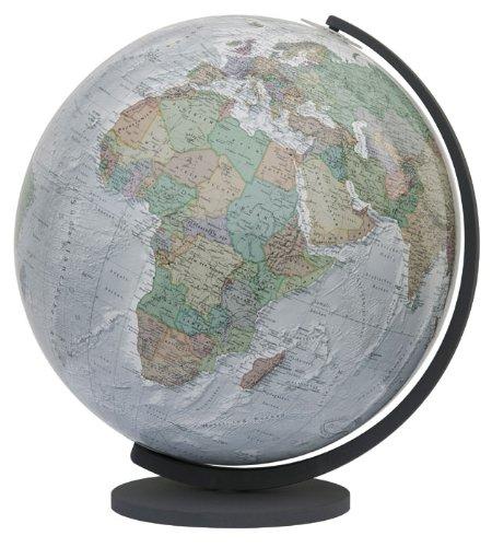 9783871294297: COLUMBUS DUO ALBA Leuchtglobus: Unbeleuchtet politisch, beleuchtet physisch