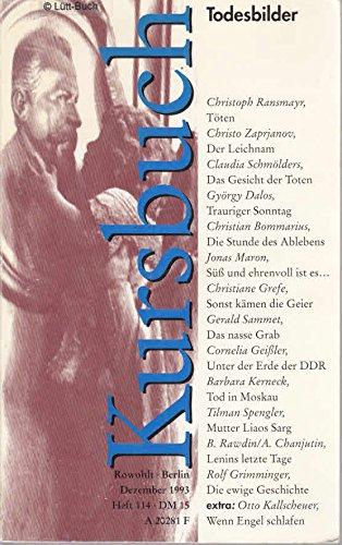 9783871341144: Todesbilder. Kursbuch, Heft 114