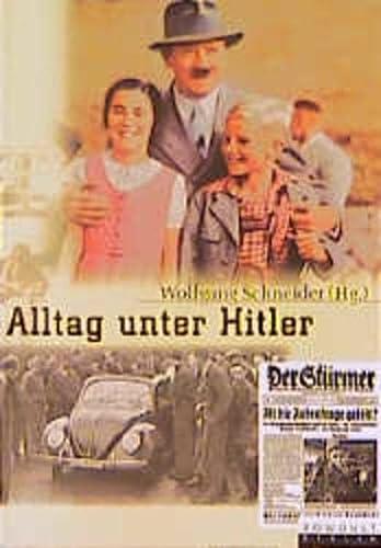 9783871344046: Alltag unter Hitler