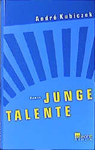 9783871344466: Junge Talente