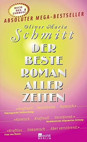 9783871346224: Der beste Roman aller Zeiten