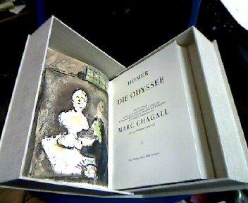 Die Odyssee / Homer; Autoris. dt. Ausg.: Homerus; Chagall, Marc