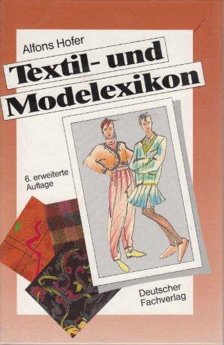 9783871502804: Textil- und Modelexikon