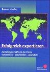 9783871562433: Erfolgreich exportieren