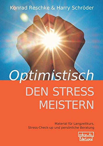9783871593208: Optimistisch den Stress meistern - Beiheft