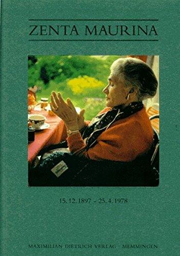 9783871641312: Zenta Maurina. 15.12.1897 - 25.4.1978