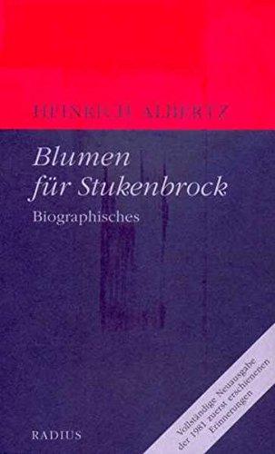 Blumen für Stukenbrock : Biographisches: Heinrich Albertz