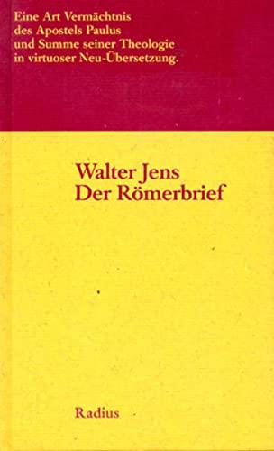 9783871732058: Der R�merbrief