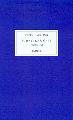 9783871733185: Schattenwürfe: Gedichte 2005