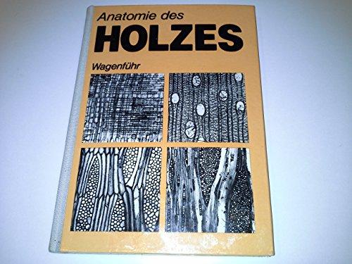 9783871813238: Anatomie des Holzes - unter besonderer Berücksichtigung der Holztechnik