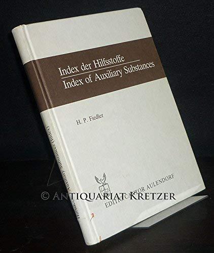 9783871930751: Index der Hilfsstoffe =: Index of auxiliary substances (Der Pharmazeutische Betrieb)