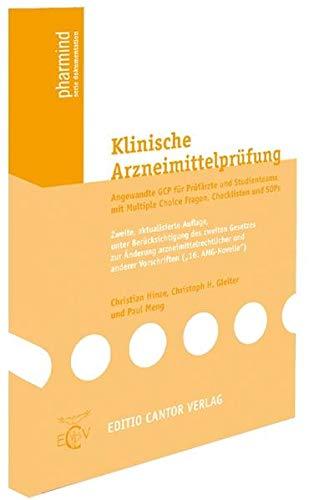 Klinische Arzneimittelprüfung: Christian Hinze