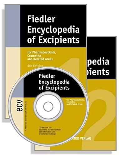 9783871933455: Fiedler - Encyclopedia of Excipients / Buch (2 Bände) + CD-ROM