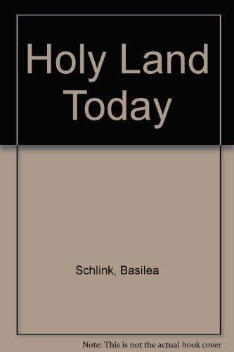 9783872096104: Holy Land Today