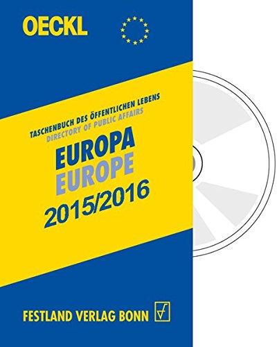 Oeckl. Taschenbuch des Öffentlichen Lebens Europa 2015/2016 - Kombiausgabe, m. CD-ROM. ...
