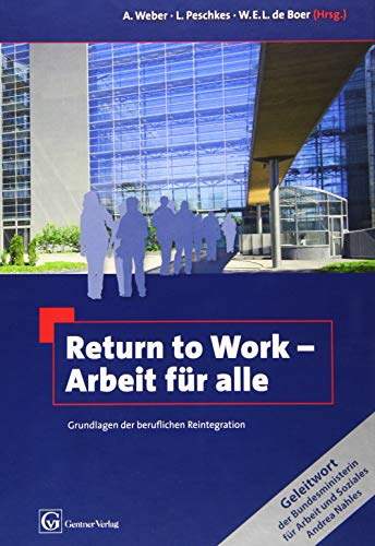 Return to Work - Arbeit für alle: Andreas Weber