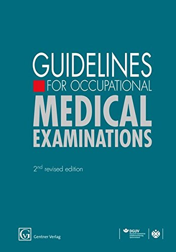 9783872477644: Guidelines for Occupational Medical Examinations