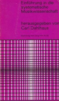 9783872520500: Einfuhrung in die Systematische Musikwissenschaft