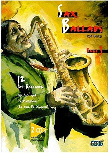 9783872523150: Sax Ballads 3. Inkl. 2 CDs