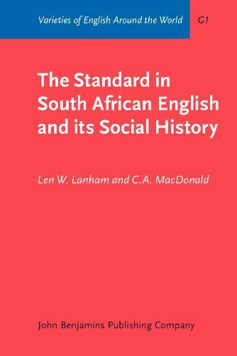 The Standard in South African English and: MacDonald, C.A., Lanham,