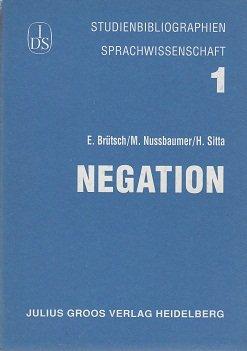 9783872766373: Negation