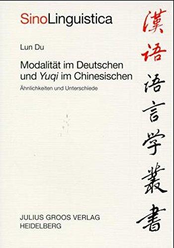 9783872768209: Modalität im Deutschen und Yuqi im Chinesischen