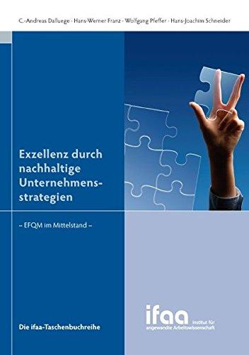 9783872840929: Exzellenz durch nachhaltige Unternehmensstrategien