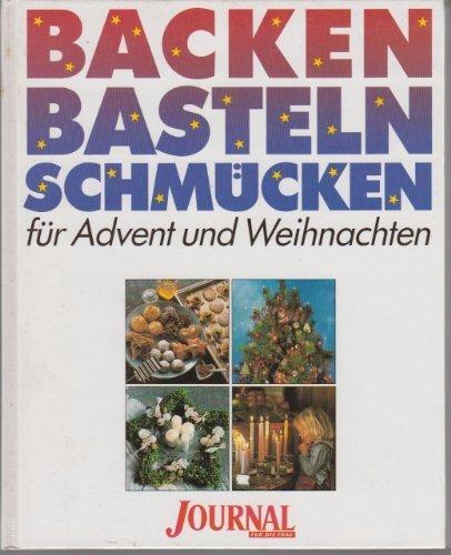 Basteln, backen, schmücken für Advent und Weihnachten.: Kellermann, Birgit und