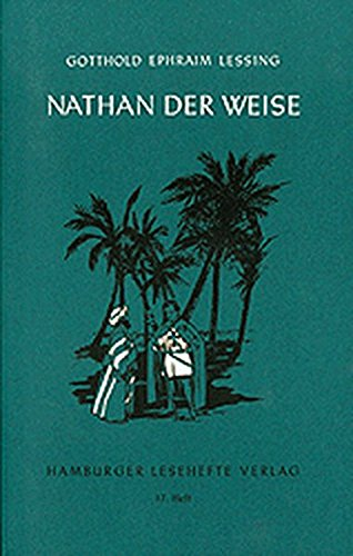 Nathan der Weise.: Lessing, Gotthold Ephraim