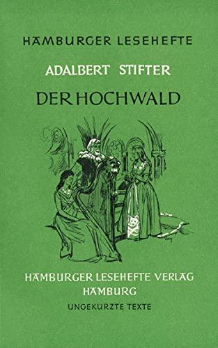 9783872910271: Der Hochwald