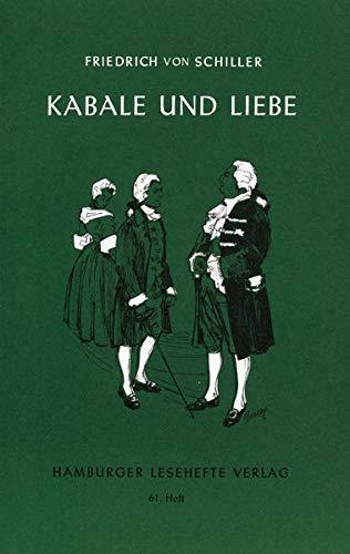9783872910608: Kabale und Liebe