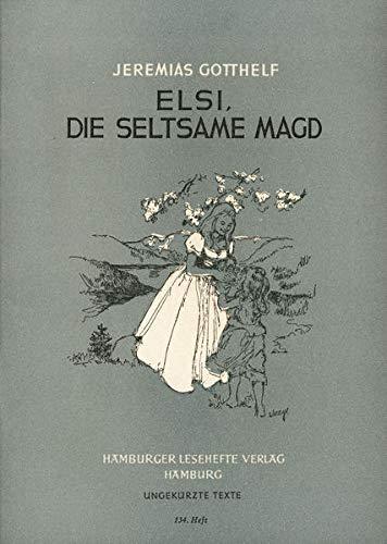 9783872911339: Elsi, die seltsame Magd: Und andere Erzählungen