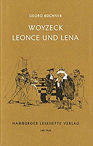 9783872911476: Woyzeck / Leonce und Lena: Ein Fragment/ Ein Lustspiel