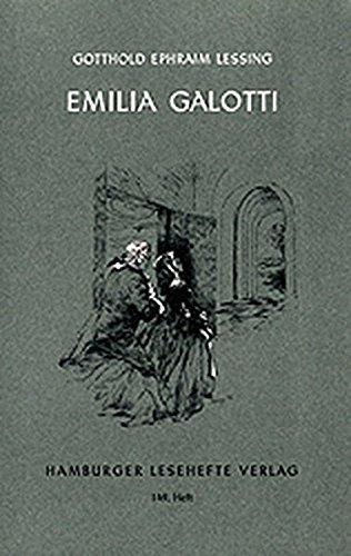 9783872911483: Emilia Galotti