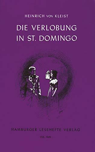 9783872911520: Die Verlobung in St. Domingo: v.1: Vol 1